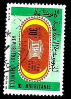 MAURITANIE 222° 30f Vert, Noir, Brun Et Jaune 20ème Anniversaire De L'U.N.E.S.C.O. (10% De La Cote + 0,15) - Mauritanie (1960-...)