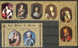 CHAD  Painting,royals Persones  13 Sets  MNH - Art