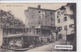 Cpa Dept 20 2a - Ajaccio - Un Lavoir Public (circulé En 1929 - Voir Scan Recto-verso) - Ajaccio