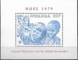 1979 Ruanda  Mi. Bl 86**MNH   INTERNATIONAL YEAR OF THE CHILD: - Rwanda