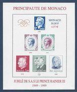 Monaco - Bloc YT N° 83 - Neuf Sans Charnière - 1999 - Blocks & Kleinbögen