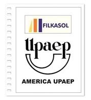Suplemento Filkasol America U.P.A.E.P. 2015-2018 - Ilustrado Para Album 15 Anillas - Pre-Impresas