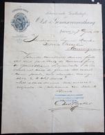 FATTURA CONSERVEN FABRIK SCHWEIZERISCHE GESELLSCHAFT OBST & GEMUSE VERWERTHUNG SURSEE ANNO 1889 SVIZZERA - Svizzera