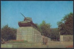 """RUSSIA 1983 POSTCARD L-35733 Mint OREL TANK """"T-34"""" MONUMENT WW2 GUERRE WAR TRANSPORT MILITARY MILITARIA USSR - War 1939-45"""