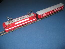 """Train HO JOUEF BB 9288 """"CAPITOLE"""" - Jouets Anciens"""