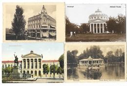 BUCURESTI BUCAREST (Roumanie) Ensemble De 4 Cartes Universitatea Cafeu High Life ... - Romania