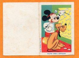 CALENDRIER DE POCHE - 1963 - WALT DISNEY - PLUTO CHEZ L'OPTICIEN  - MICKEY - Calendriers