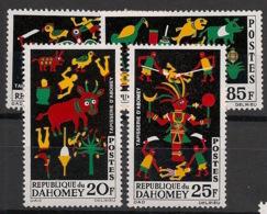 Dahomey - 1965 - N°Yv. 218 à 221 - Tapisseries  - Neuf Luxe ** / MNH / Postfrisch - Benin - Dahomey (1960-...)