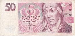 BILLETE DE LA REPUBLICA CHECA DE 50 KORUN DEL AÑO 1997  (BANKNOTE) - Czech Republic