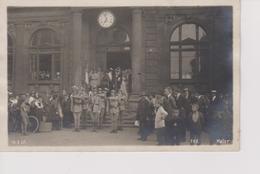 Carte Photo 14 Juillet 1920 Arrivée Du Drapeau Du 172 Eme R I Kaiserslautern - Régiments