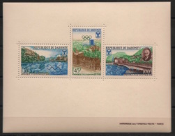 Dahomey - 1967 - Bloc-feuillet BF N°Yv. 10 - Olympics / Grenoble - Neuf Luxe ** / MNH / Postfrisch - Winter 1968: Grenoble