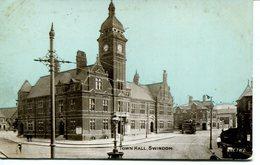 WILTS - SWINDON - TOWN HALL 1908 Wi318 - England
