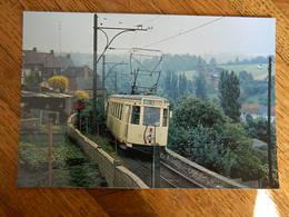 PETIT-WASMES +TRAM:PHOTO 10X15 -TRAM -LE TRAM DANS LA COTE DE ST ROCH 18/7/1965 - Belgique