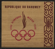 Dahomey - 1968 - Bloc-feuillet BF N°Yv. 15 - Olympics / Mexico - Neuf Luxe ** / MNH / Postfrisch - Summer 1968: Mexico City