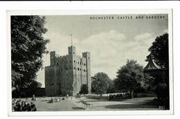 CPA - Carte Postale Royaume Uni - Rochester-- Castle And Gardens VM2443 - Rochester