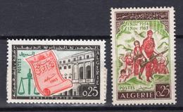 1963 - ALGERIA - Yv.  Nr. 381/382 - NH - (UP131.52) - Algérie (1962-...)