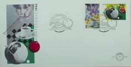 Billard La Haye Pays-Bas  (S'Gravenhage) - Timbres