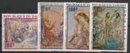 Dahomey - 1968 - Poste Aérienne PA N°Yv. 93 à 96 - Tableaux / Foujita - Neuf Luxe ** / MNH / Postfrisch - Religieux
