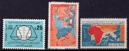 1963 - ALGERIA - Yv.  Nr. 384/386 - NH - (UP131.52) - Algeria (1962-...)