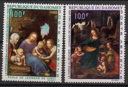 Dahomey - 1969 - PA N°Yv. 99 à 100 - Tableaux - Neuf Luxe ** / MNH / Postfrisch - Religious