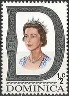 DOMINICA 1969 (**) - Mi. 267 O, Queen Elizabeth II | Heads Of State | Queens | Royalty - Dominique (...-1978)