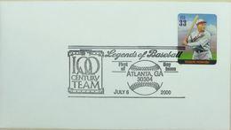 Baseball Legends Atlanta 2000 Rogers Hornsby - Base-Ball