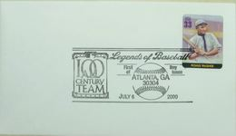 Baseball Legends Atlanta 2000 Fionus Wagner - Base-Ball