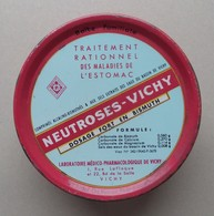 - Boite Métal. Boite Familiale. NEUTROSES VICHY - Pharmacie - - Matériel Médical & Dentaire