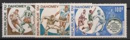 Dahomey - 1973 - Poste Aérienne PA N°Yv. 196 à 198 - Football World Cup - Neuf Luxe ** / MNH / Postfrisch - Coppa Del Mondo