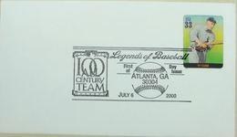 Baseball Legends Atlanta 2000 Ty Cobb - Base-Ball