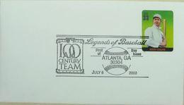 Baseball Legends Atlanta 2000 Eddie Collins - Base-Ball