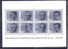 1964   RFA, 20 Ans De L'attentat  Du 20/07/1944, BF 2 Ob, Cote 26 €, - [7] République Fédérale