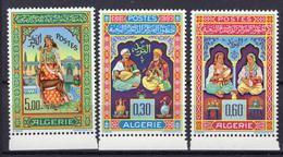 1965 - ALGERIA - Yv.  Nr. 411/413 - NH - (UP131.53) - Algeria (1962-...)