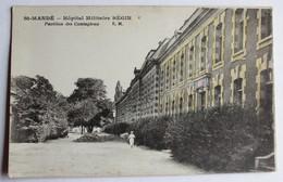 CPA 94 Saint Mandé 1929 Hôpital Militaire Bégin Pavillon Des Contagieux - Saint Mande