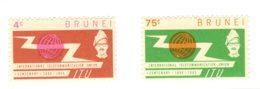 Brunei, 1965, SG 132 - 133, Mint Hinged - Brunei (...-1984)