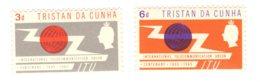 Tristan Da Cunha, 1965, SG 85 - 86, Mint Hinged - Tristan Da Cunha