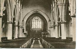 WILTS - WARMINSTER - MINSTER CHURCH INTERIOR Wi326 - England