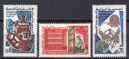 1965 - ALGERIA - Yv.  Nr. 418/420 - NH - (UP131.53) - Algeria (1962-...)
