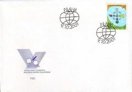FDC 308 Czech Republic Dialogue Of Civilizations 2001 - Emissions Communes