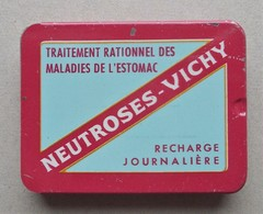 - Boite Métal. Recharge Journalière. NEUTROSES VICHY - Pharmacie - - Matériel Médical & Dentaire