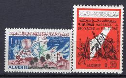 1966 - ALGERIA - Yv.  Nr. 421+430 - NH - (UP131.53) - Algeria (1962-...)