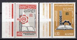 1966 - ALGERIA - Yv.  Nr. 422/423 - NH - (UP131.53) - Algeria (1962-...)