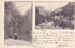 CPA 05 @ BRIANCON - Usine Electrique, Pont Baldy Et Réservoir - Cliché Rava En 1915 Guerre - Cachet Hôpital Temporaire - Briancon
