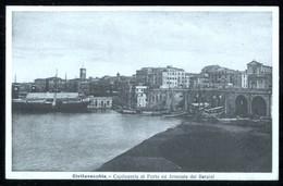 CIVITAVECCHIA - ROMA - INIZI 900 - CAPITANERIA DI PORTO ED ARSENALE DEL BERNINI - Roma