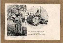 CPA - MARTIGNY-les-BAINS (88) - Carte Multi Vues Du Frère Th. R., Un Expulsé En 1904 - France