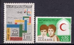 1966 - ALGERIA - Yv.  Nr. 433+446 - NH - (UP131.53) - Algeria (1962-...)
