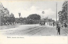 PARA (Brésil) Avenida Tito Franco Train Chemin De Fer - Autres