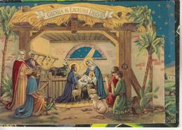 CRECHE De NOËL  - Belle Carte - Christianity