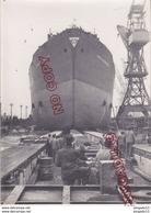 Au Plus Rapide Malmö Suède Lancement Bateau World Splendour Niarkos Grèce 15 Février 1957 Ensemble 3 Photos - Boats