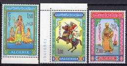1966 - ALGERIA - Yv.  Nr. 434/436 - NH - (UP131.53) - Algeria (1962-...)